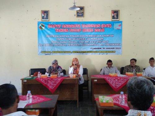 Pengasih Rapat Anggota Tahunan Rat Koperasi Simpan Pinjam Dan Pembiayaan Syariah Kssp Kube Sejahtera Keca